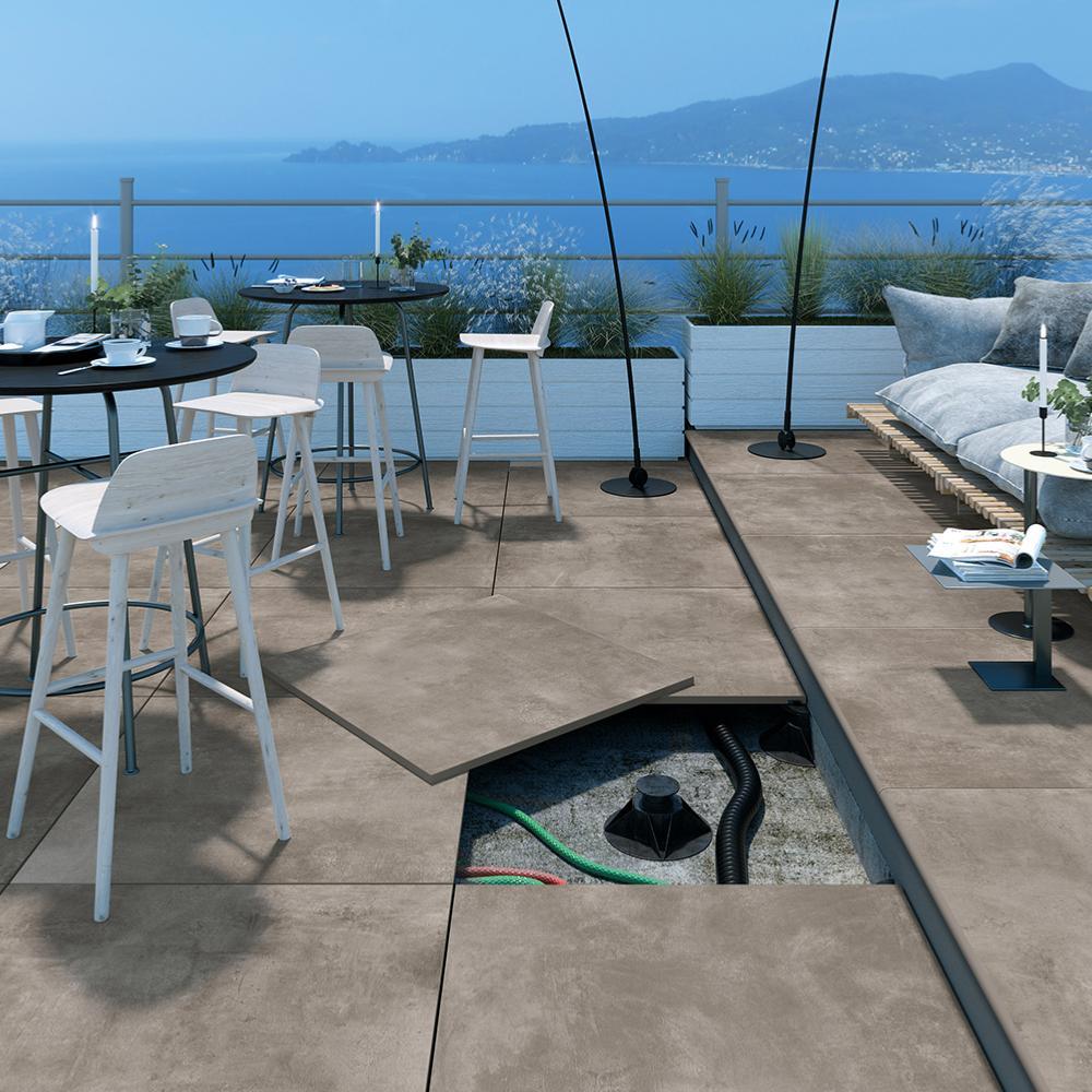 dalles 2cm gr s c rame terrasse et piscine moncarro. Black Bedroom Furniture Sets. Home Design Ideas