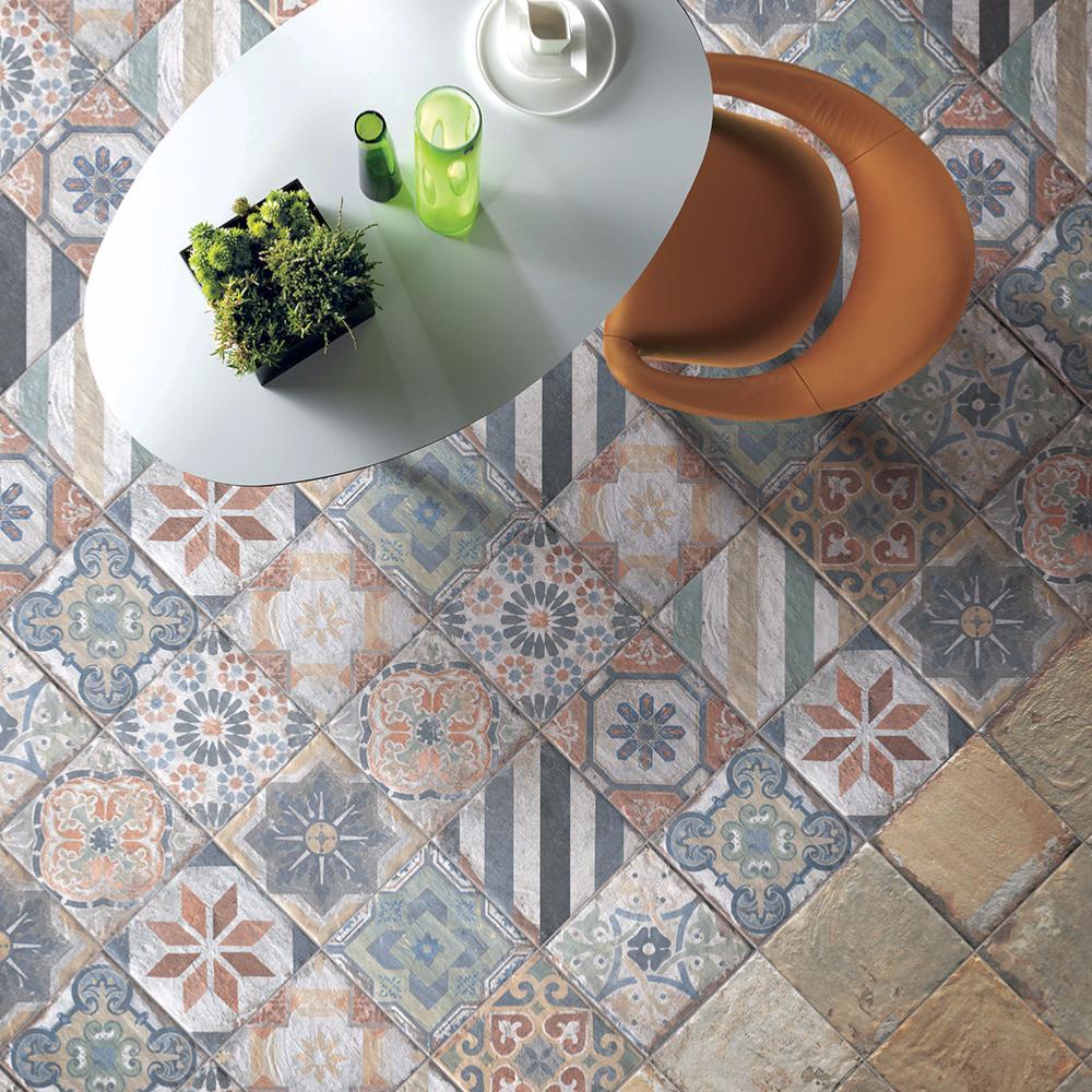 carreaux en gr s imitation ciment 20x20 finca vigia mix collection havana de cir. Black Bedroom Furniture Sets. Home Design Ideas
