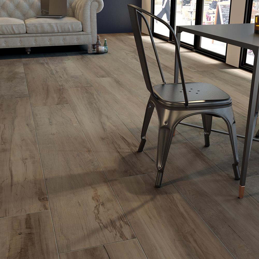 Sol Carrelage Et Parquet carrelage sol imitation bois parquet 20x120 brown naturel rectifié,  collection charm monocibec