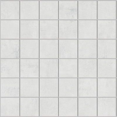 Mosaïque carrelage aspect résine 30x30 Bianco Structuré, collection Studio Century