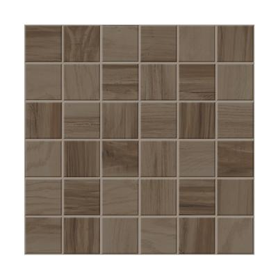Mosaïque imitation bois parquet 30x30 Brown Naturel, collection Charm Monocibec