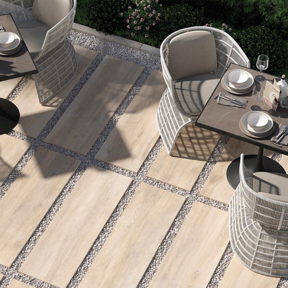 Carrelage Exterieur Imitation Bois dalles 2 cm imitation bois extérieur 40x120 beige grip rectifié, collection  greenwood h20 rondine