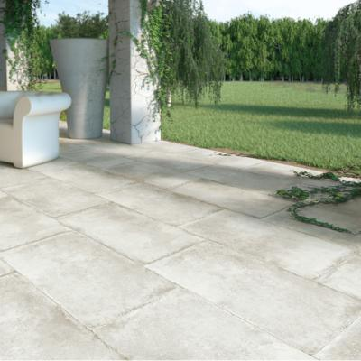 Carrelage terrasse anti-dérapant effet pierre 50x100 Olimpia Grip, collection Esedra NAXOS