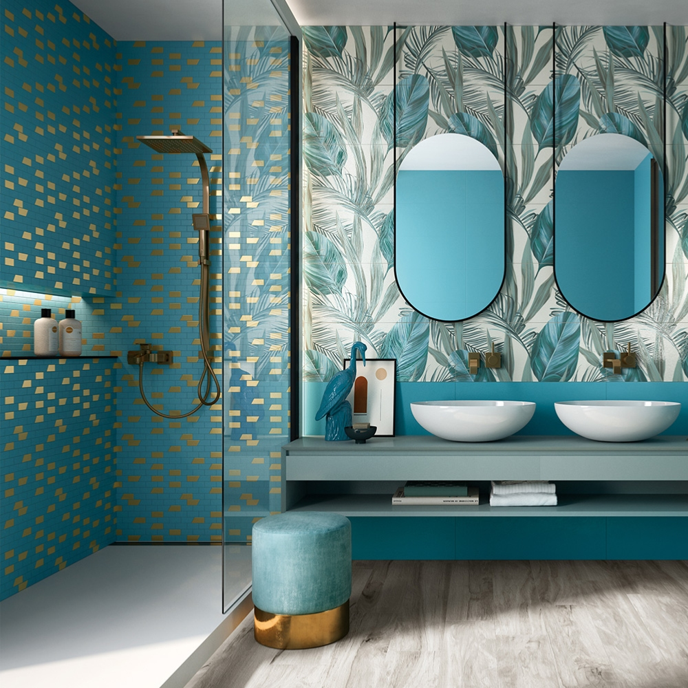 Mosaique Decor Mural Salle De Bain 30x30 Deco Jade Collection Hub Naxos
