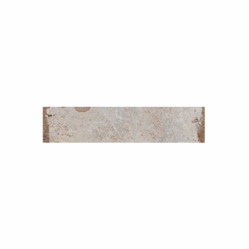 Plinthe carrelage effet terre cuite 6 5x40 sugar cane - Carrelage effet briquette ...