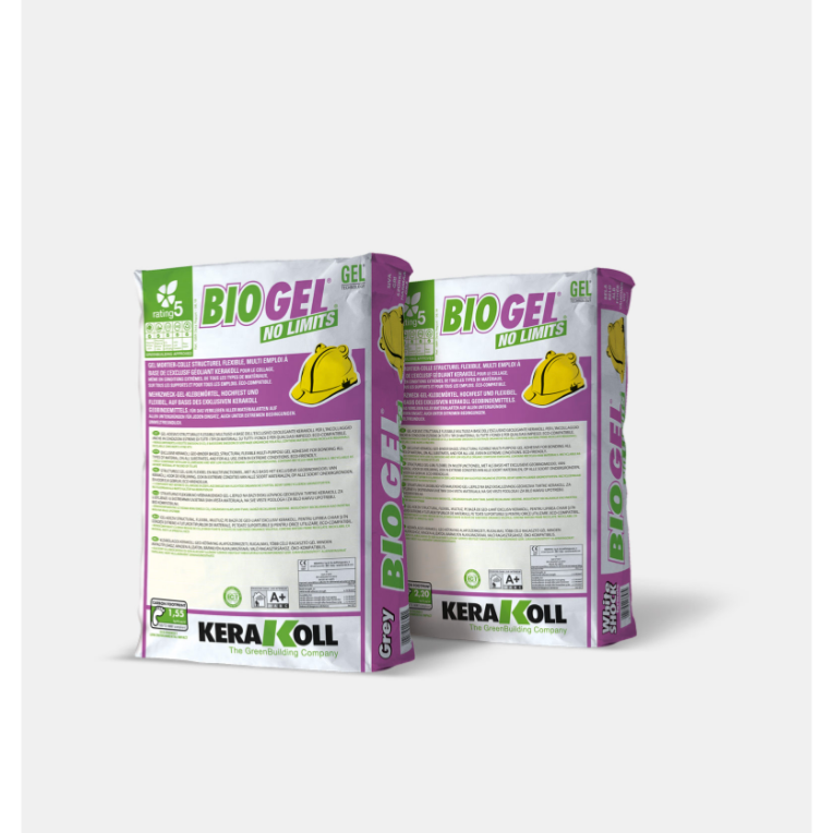 Colle BIOGEL NO LIMITS GRIS 25KG KERAKOLL 13649