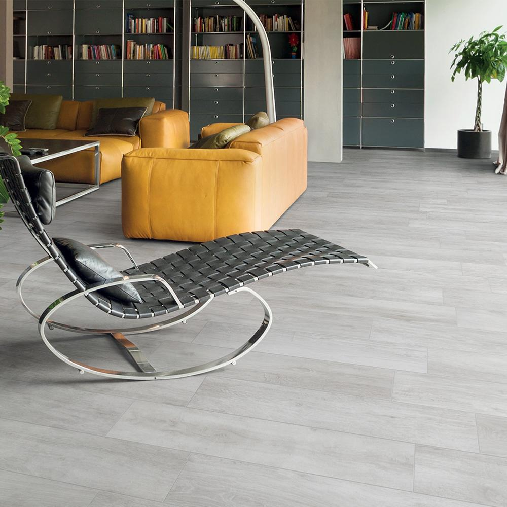 Carrelage intérieur imitation bois parquet 24x120 Bianco Naturel, collection Greenwood de Rondine