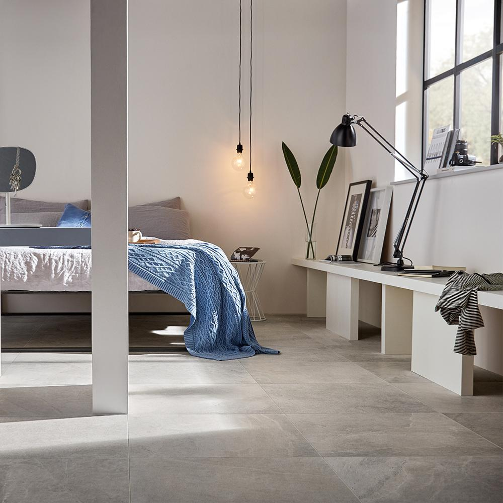 Carrelage Blanc Joint Noir carrelage intérieur effet pierre 60x60 w blanc structuré rectifié,  collection x-rock imola