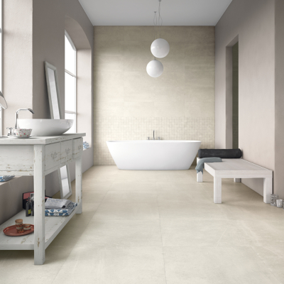 Carrelage sol effet pierre 60x60 Sugar Hill Naturel Rectifié, collection Uptown Century