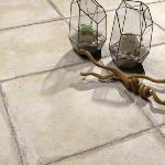 Carrelage effet pierre 60x60 Pergamo Naturel, collection Esedra NAXOS