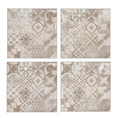 carrelage imitation carreaux de ciment 60x60 cementine beige rect collection volcano rondine