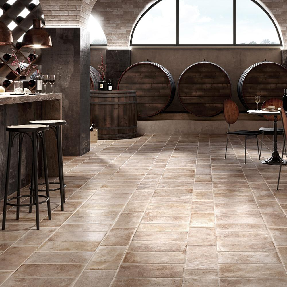 Carrelage Sol Imitation Terre Cuite Tuscany Rondine