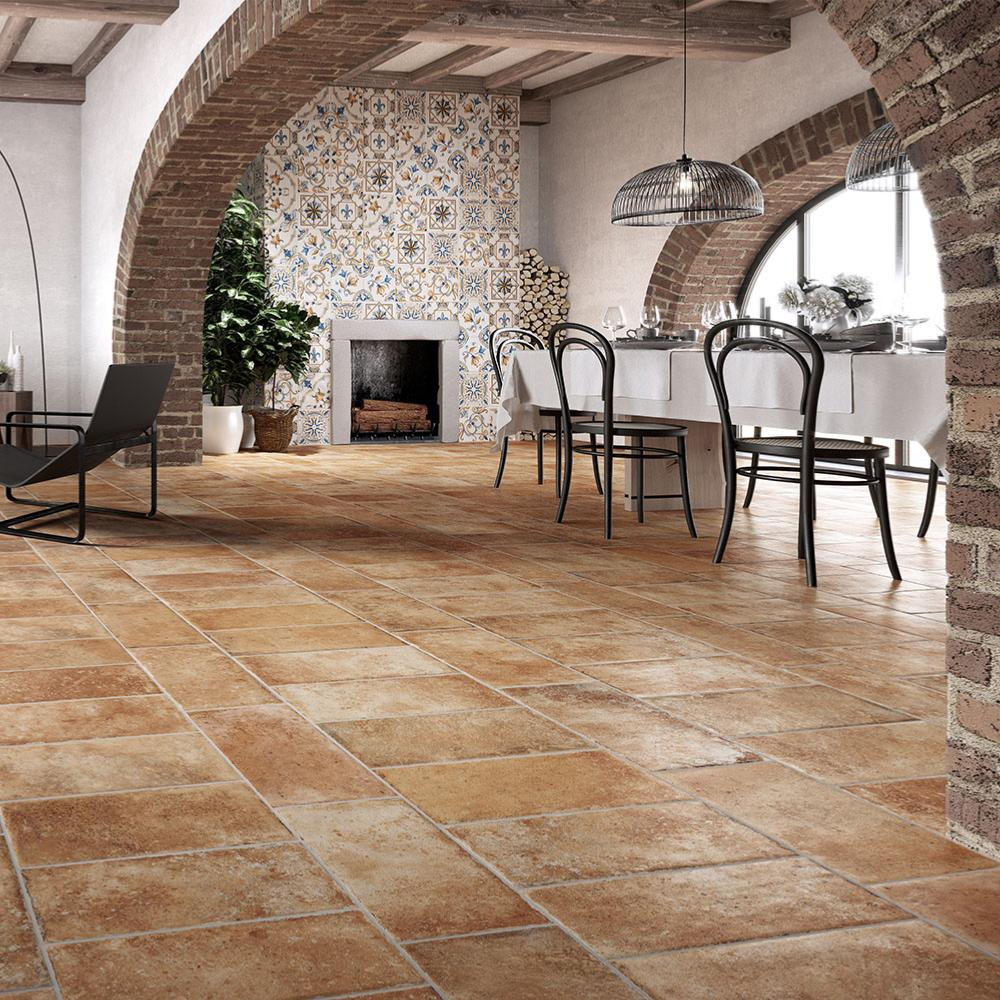 Carrelage sol imitation terre cuite | Tuscany Rondine