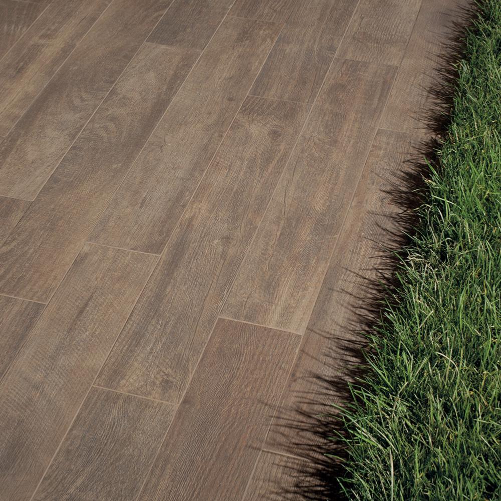 Bois Pour Terrasse Extérieure dalles 2cm imitation bois pour extérieur 30x120 walnut grip rectifié,  collection soul k2 keope