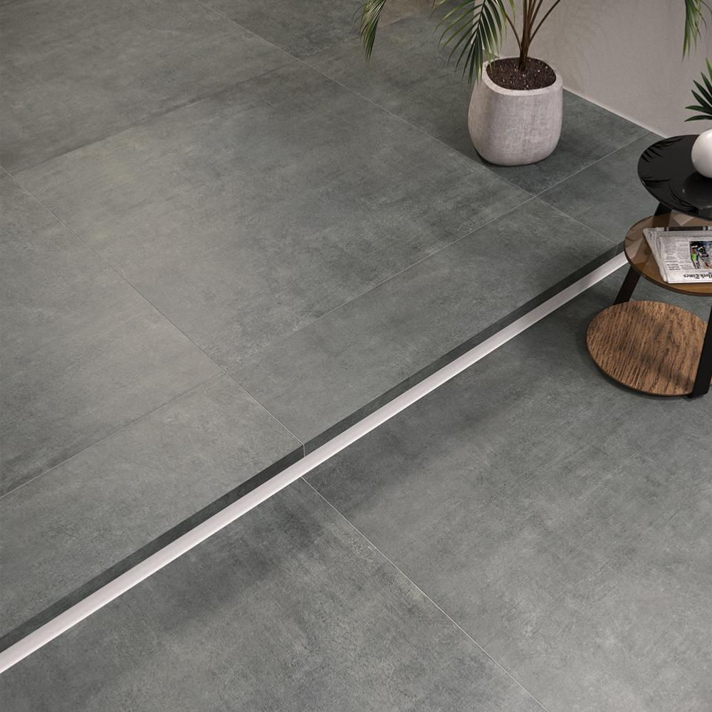 Carrelage Rectifié Ou Pas carrelage sol effet béton 60x60 cenere naturel rectifié, collection graphis  monocibec